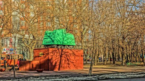 odessa monument fright