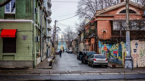 odessa street crossroads