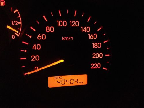 odometer car dashboard