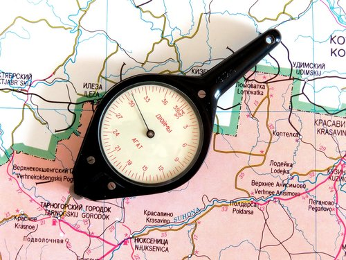 odometer  map  measurement