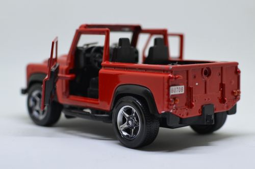 off-road vehicle land rover red vehicle