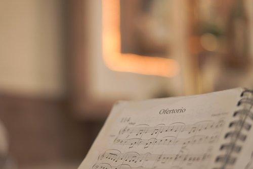 offertory  music  sheet music