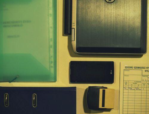 office laptop smartphone