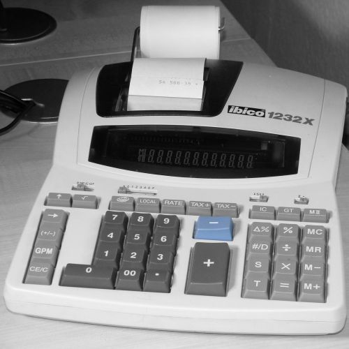 office calculating machine count