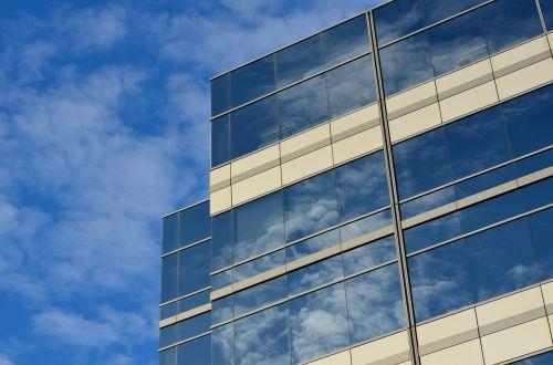 office building cloud