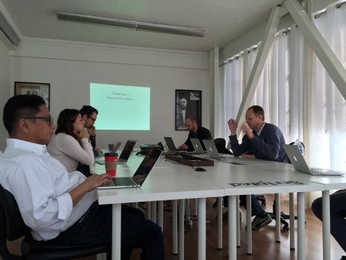 office presentation working