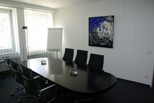 office conference table interior