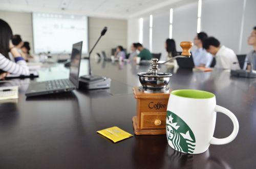 office coffee starbucks
