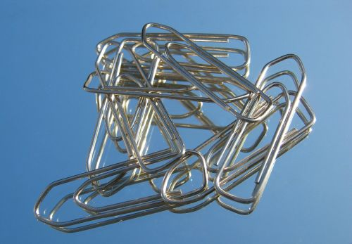 office paper clips several