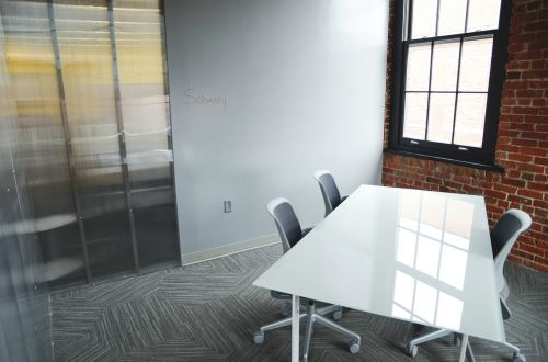 office startup table