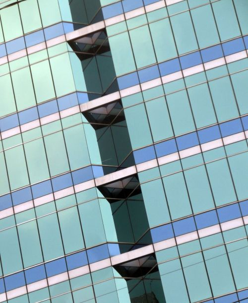 Office Block Abstract