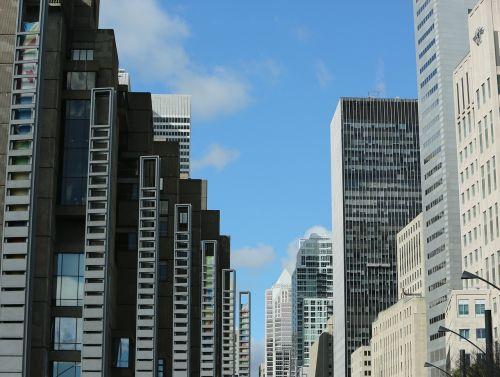 office buildings skyscrapers buildings