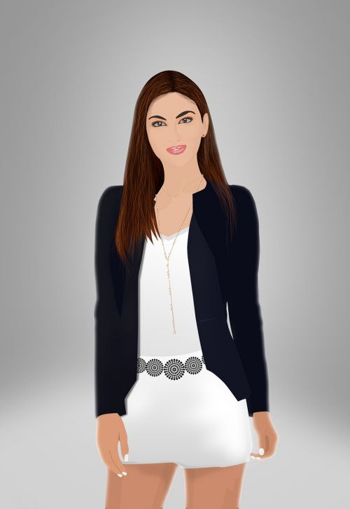 office girl business woman female