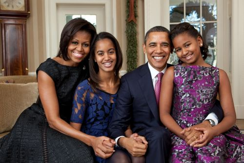 official portrait obama family 2011