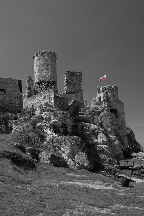 ogrodzieniec castle jura jura krakowsko-czestochowa