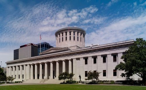 ohio statehouse capital landmark