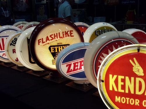 oil motors signs