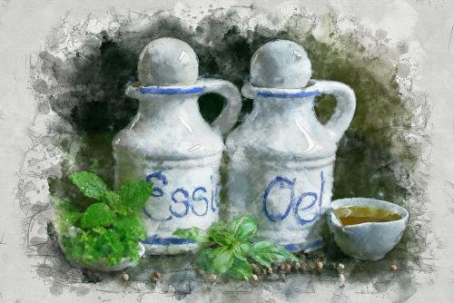 oil and vinegar oil vinegar