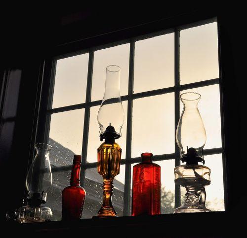 oil lanterns antique lamp