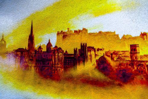 Oil Painting Edinburgh