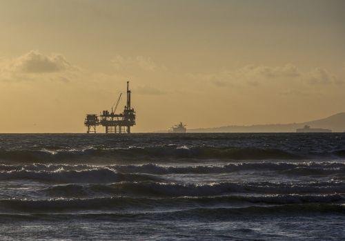 oil platform offshore platform oil rig