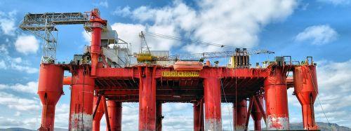 oil rig oil platform oil