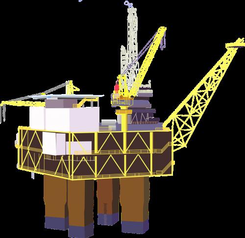oil rig rig platform