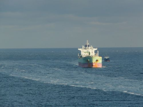 oil tanker container ship ship
