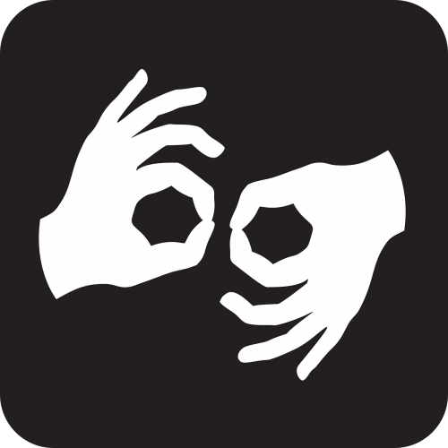 Gerai,rankos,pirštai,vertėjas,Gerai,gerai,gerai,gerai,simbolis,ženklas,piktograma,juoda,gestas,amerikietiška gestų kalba,nemokama vektorinė grafika