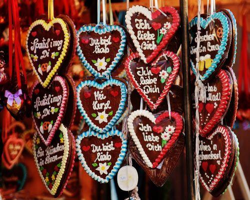 oktoberfest gingerbread heart