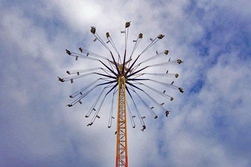 oktoberfest  munich  chain carousel