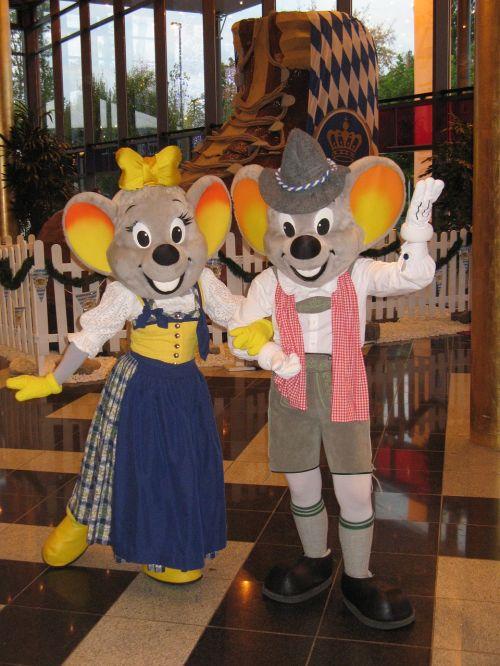oktoberfest europe-park mascot