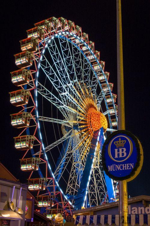 oktoberfest ferris wheel september