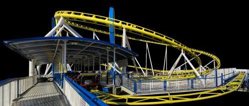oktoberfest roller coaster isolated
