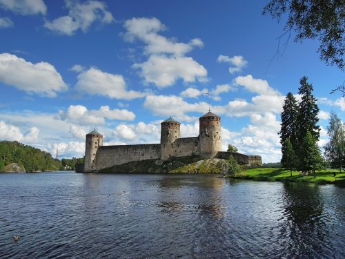 olaf's castle savonlinna city