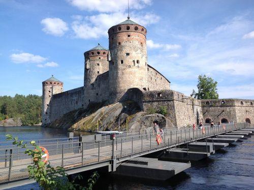 olaf's castle savonlinna summer