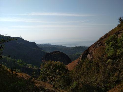 olandscape gunung indonesia