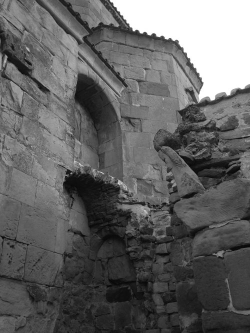 old architecture broke