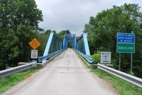 bridge kentucky quicksand