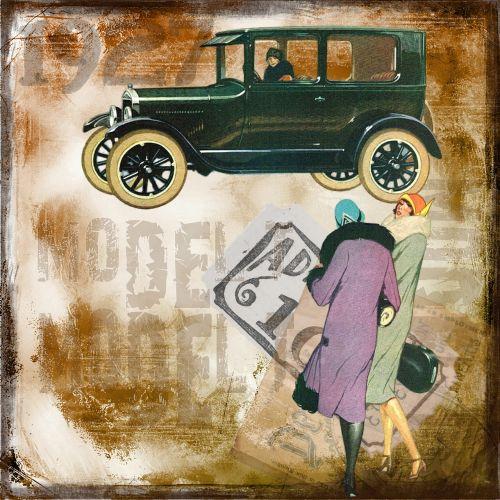 old car vintage