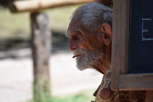 old elder portrait