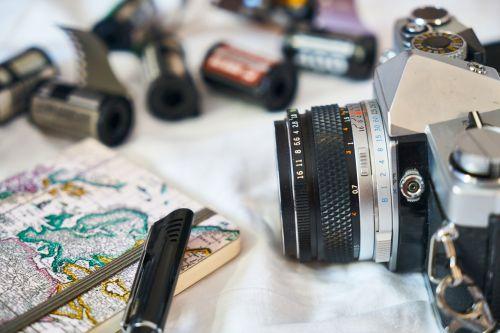 old photo machine