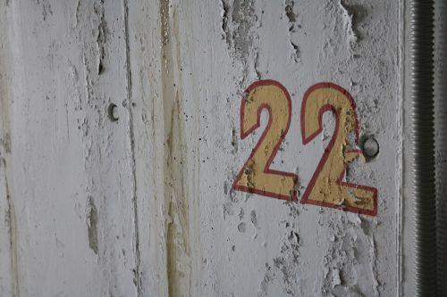 old number 22