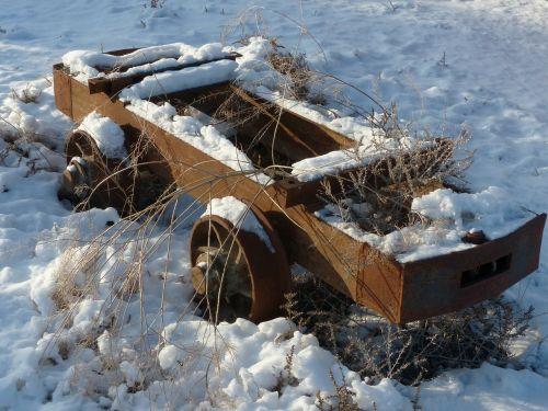 old rusty mining