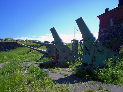 old coastal guns guns