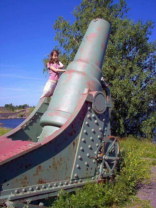 old coastal cannon cannon