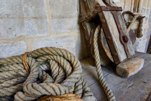 old tool rope