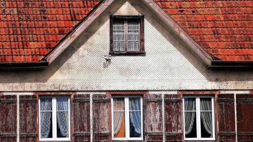 old the structure of the the window