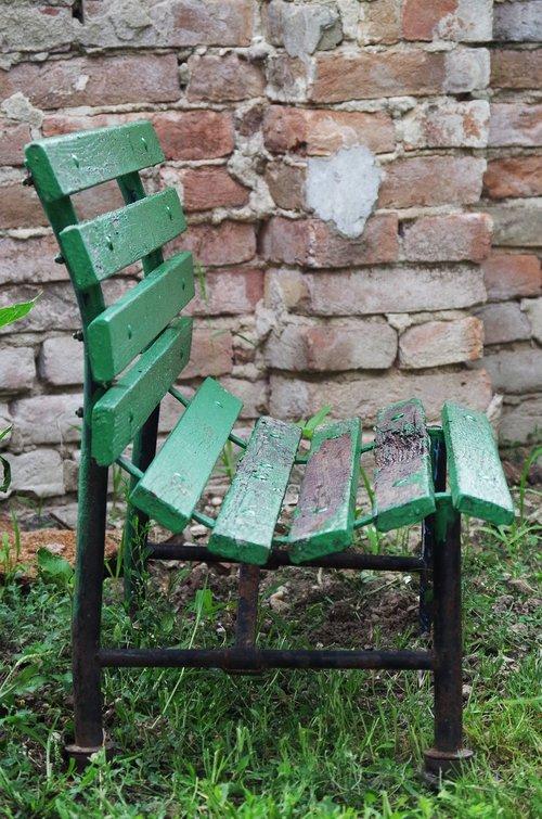 old  bench  odratá