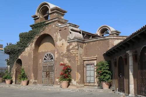 old  rustic  mission